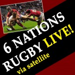 6 NATIONS RUGBY LIVE!
