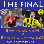 CHAMPIONS LEAGUE FINAL &#8211; Saturday May 25th 2.45am (Sun Morn)