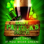 ST PATRICK'S DAY! WEDNESDAY MARCH 17TH